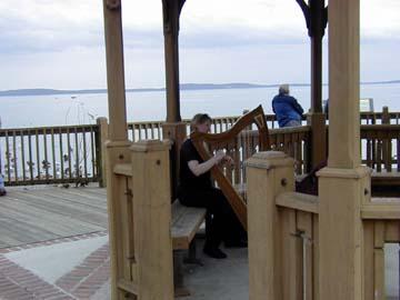 Jo playing in Havre de Grace
