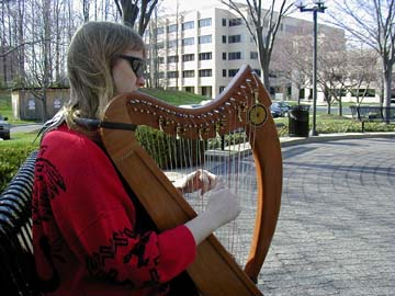 Jo playing in Rockville, MD